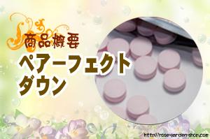ペアーフェクトダウン/商品概要・評価
